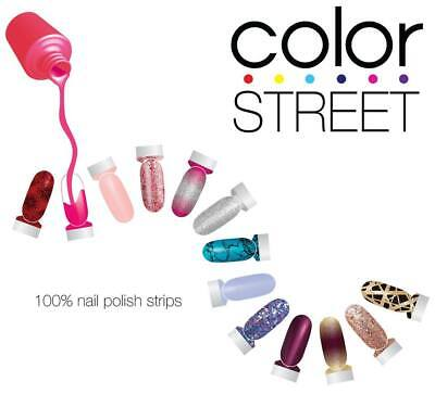 Color Street Nail Polish Strips - RETIRED, PATRIOT, PETITE, SPRING FAST SHIPPING