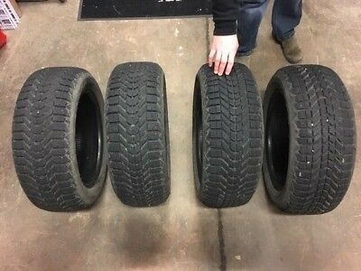 Firestone Winterforce Snow Tires 205/ 55R16 x4 *In Great Shape*