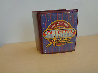 Vintage All Star Card Collector's Album