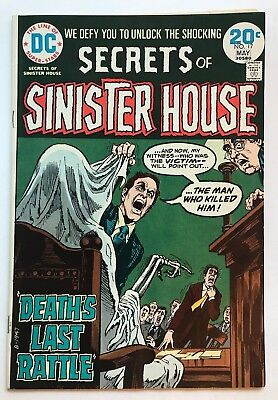 DC SECRETS OF SINISTER HOUSE #17 5/74 Comic Book