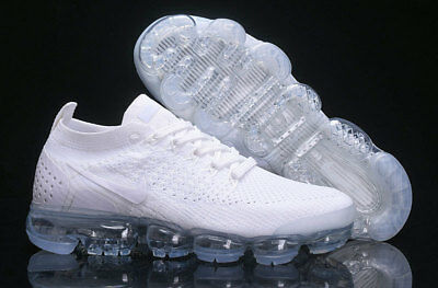 Nike Air Vapormax 2018 Flyknit (White) Running Athletic Sport Classic Gym