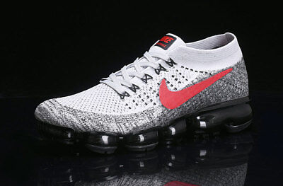 Nike Air Vapormax 2018 Men's (WhBkRe)- Running Shoes Movement Fitness City Trail