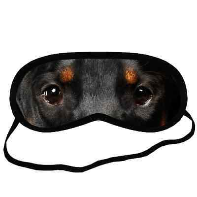 DOBERMAN PINSCHER EYES SLEEP MASK S Size Funny Gift for Boy Girl Dog Lover Stuff