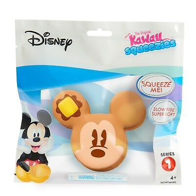 Disney Mickey Pancake Series 1 Kawaii Squeezies - New in Sealed Package