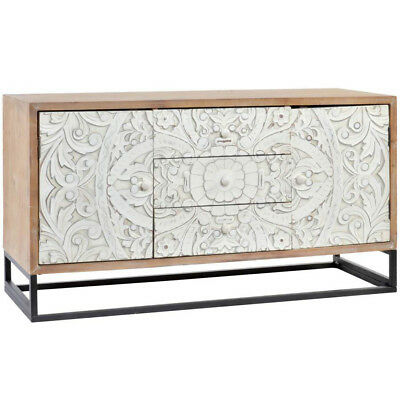Mobile Credenza Porta Tv.Mobile Credenza Porta Tv Orientale Shabby Chic Decapato