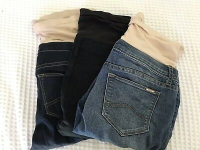 Jeanswest Maternity Jeans, x3 Pairs, Size 10, Skinny