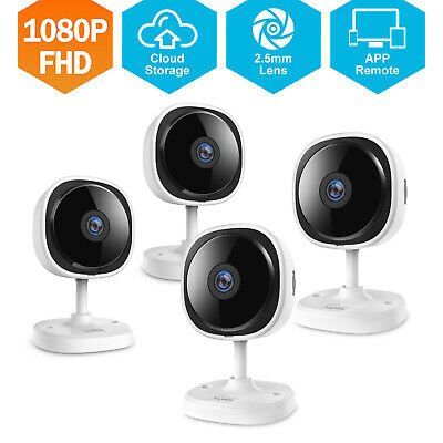 SANNCE HD 1080P Wireless Security IP Camera WIFI Indoor System Motion Detection