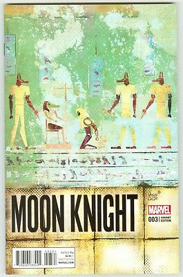 Moon Knight Vol. 8 #3 Jeffrey Veregge Variant Cover NM