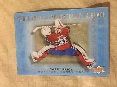 2015-16 UD Upper Deck Tim Hortons Above The Ice Carey Price Insert AI-TS