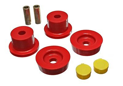Energy Suspension 11.4101R Differential Carrier Bushing Set Fits 90-05 Miata
