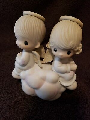 Precious Moments Figurine - But Love Goes On Forever