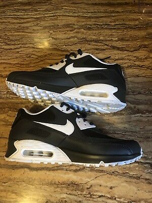 Nike Air Max 90 Essential Black White Men Sneaker 537384-089 Size 9 #2