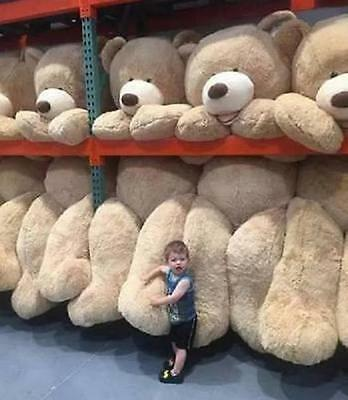 Large Teddy Bear Giant Big Soft Plush Toys Kids Gift 60-340CM Cover Good Gifts
