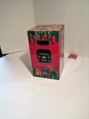 Patron Tequila Limited Edition Collector Tin Aztec Mexican Heritage Empty Mexica