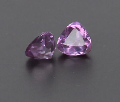 2.70 Ct Certified Natural Color Change In Sunlight Alexandrite Pair Loose Gems
