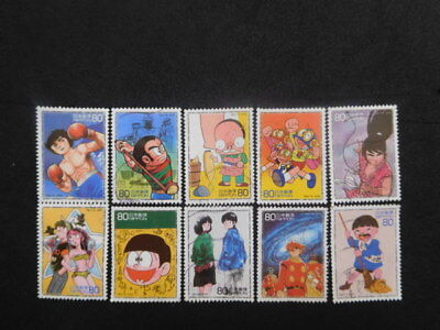Japan Stamps ( The 50Th Anniv.of Japanese Weekly Comic Ⅰ ) Used