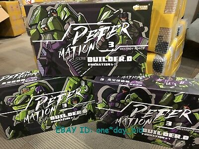 Transformation JINBAO Bulider Oversized Devastator Figure Set A+B+C In STOCK