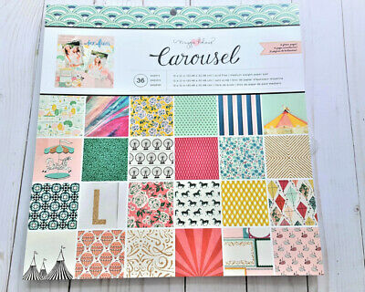 Elle Oh Elle 12x12 Paper Pad by The Paper Studio Fashion Girl Boss,Scrapbooking