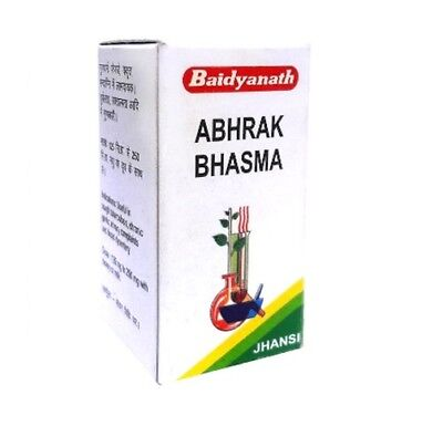 Baidyanath Abrak Bhasma (10g) For Respiratory Problems, Asthma, Bronchitis