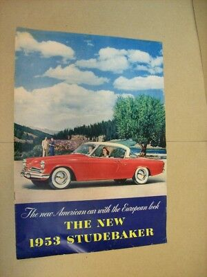 1953 Studebaker Full Line Catalog / Brochure