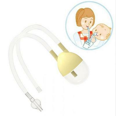 Baby Safe Nose Cleaner Vacuum Suction Nasal Mucus Runny Aspirator ONMF