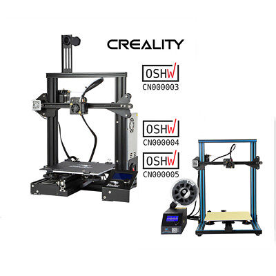 OSHW Certified Creality Ender 3 CR-10 3D Printer 1.75mm PLA Valentine's Day Gift