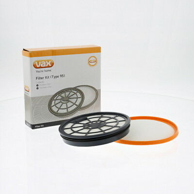 Vax Genuine Type 95 Filter Kit HEPA Replacement Spare Part 1-1-134231-00