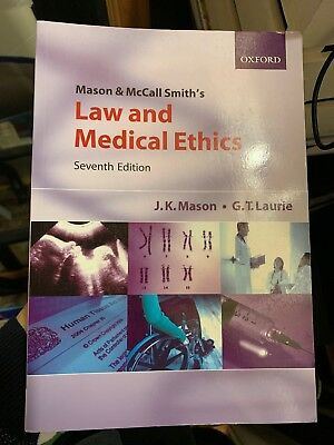 Law And Medical Ethics 7th Ed