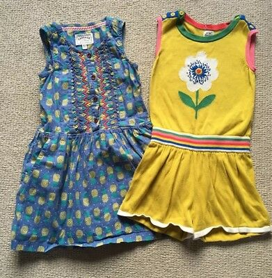 Girls Mini Boden Playsuit And Fat Face Dress Age 4-5