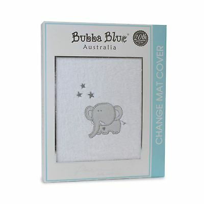 Bubba Blue Tickle Me Changepad Cover - Grey/Blue