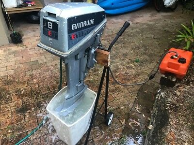 Evinrude 8hp outboard motor