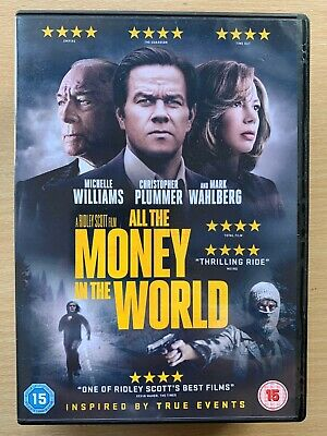 All the Money in the World 2017 True Life Gerry Kidnapping Crime Thriller UK DVD