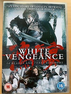 Anthony Wong White Venganza ~ 2011 Chino Mandarín Artes Marciales Epic Gb DVD