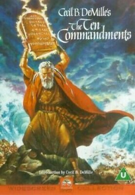 The Ten Commandments 2-Disc Dvd Charlton Heston Brand New & Factory Sealed