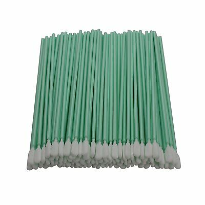"200pc 6.3"" Square Rectangle Foam Cleaning Swab Sticks For Solvent Format Inkjet"