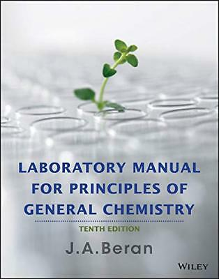 Laboratory Manual for Principles of General Chemistry10th & 9th Editions[EB00KS]