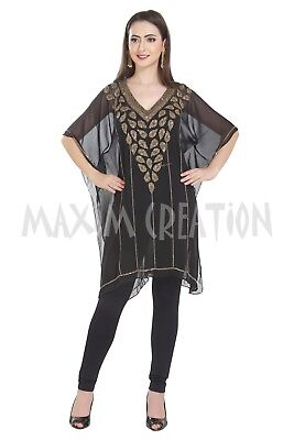 Islamic Fashion Party Wear Kurti Daily Home Wear Blouson For Lady Top Only 7204