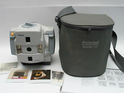 Polaroid MACRO 5 close up & portrait SLR camera for instant Spectra Film WORKS