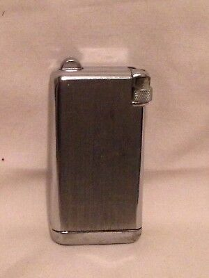 Vintage Cigarette butane Lighter Parker Flaminaire Parker pen co 1950's silver