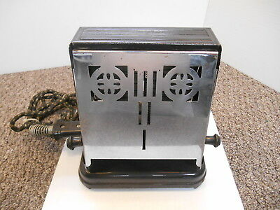 Vintage Toaster Westinghouse Model Ttc-114 Tested & Works Double Slicer