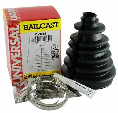 Bailcast Stickyboot split universal CV boot kit Drive Shaft - Brand New CVS18