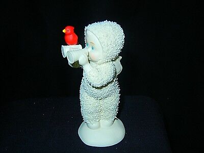 Snowbabies I'VE GOT MY EYE ON YOU  RED CARDINAL Dept 56    (S2)