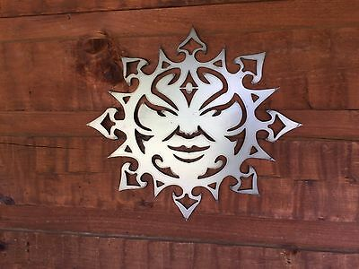 Southwest Sun Face   Metal Wall Art Home Decor Outdoor Patio Garden