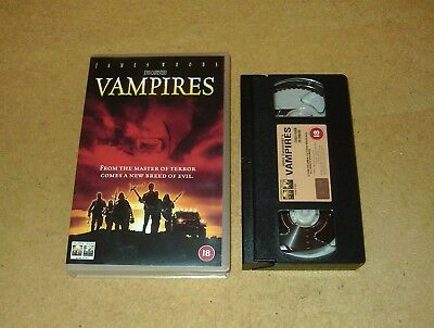 Vampires - Ex-Rental Big Box VHS Video John Carpenter James Woods Horror