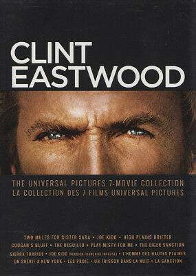 Clint Eastwood (The Universal Pictures 7-Movie Collection) (Bilingual) (Dvd)