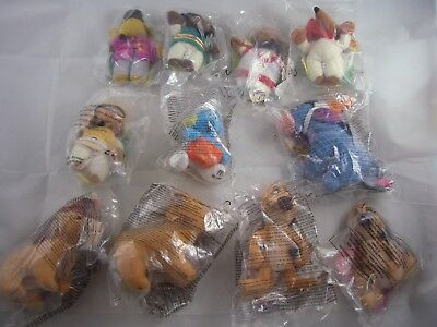 McDonalds Happy Meal Soft Toys including Lion King & Wombles *no complete sets*