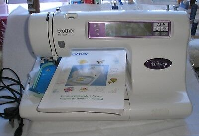 BROTHER pe180 EMBROIDERY MACHINE SPARES OR REPAIRS