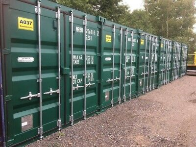 Self Storage 20 Ft Shipping Containers To Rent £25 Per Week Wisbech Lynn Road