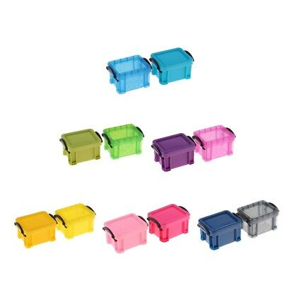 6th Miniature Candy Color Storage Case Dolls House Furniture for Any Room