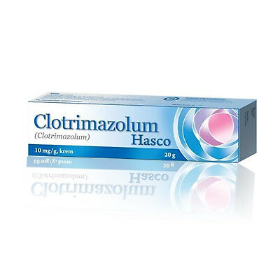 Clotrimazole Cream Anti Fungal Infection Treatment Yeast Hand Feet Genitals 20g